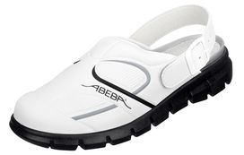 ABEBA Clog DYNAMIC white